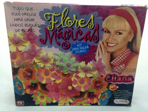 flores mágicas da eliana glasslite brinquedo antigo