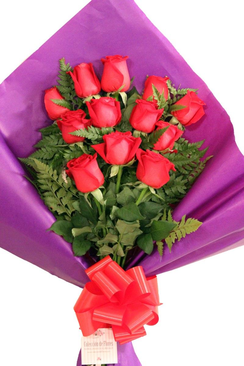 Flores Naturales Ramo De Rosas S Envios A Domicilio 495 00 En