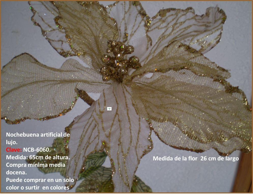 Flores para adornar el rbol navide o fdp en for Adornos con plantas de nochebuena