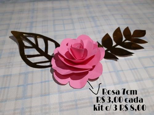 flores para decoração de bolo e painel