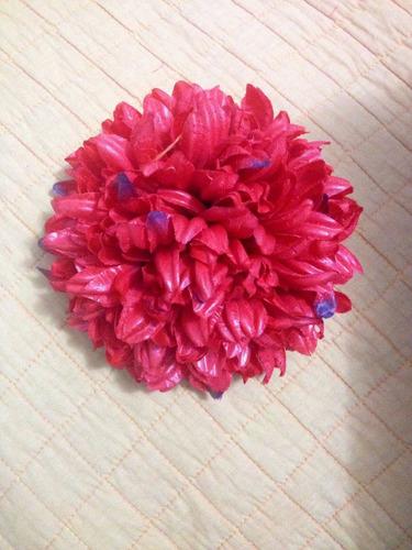 flores  para el  pelo