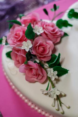 flores-ramos en porcelana fria- melodías de sabor