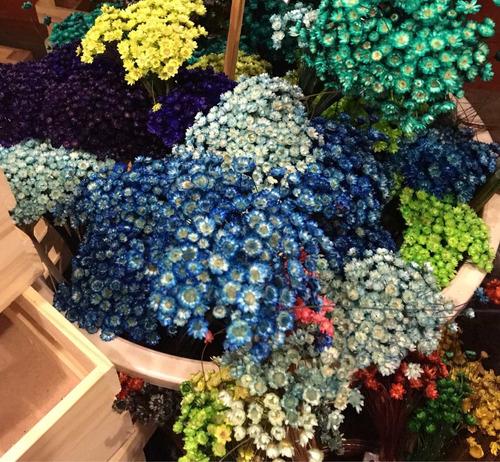 flores secas diamantina (100 unidades)