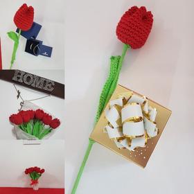 Flores Tejidas Para Regalar Feliz Primavera!!!