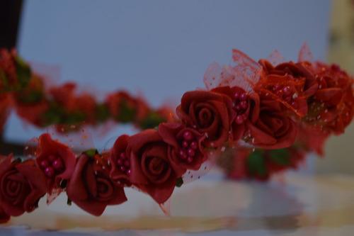 flores tiara flores