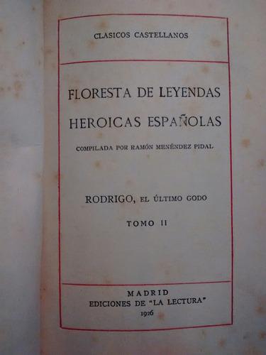 floresta de leyendas históricas españolas