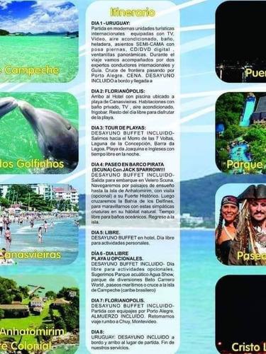 florianópolis en turismo del 5 al 12 de abril. solo usd359!!