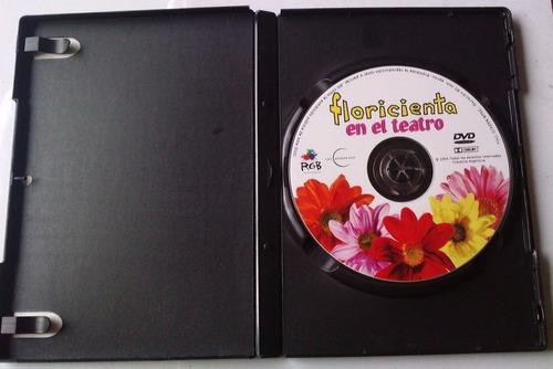 floricienta en el teatro dvd raro argentino 1a ed 2004  bvf