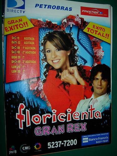floricienta teatro rex publicidad clipping revista caras