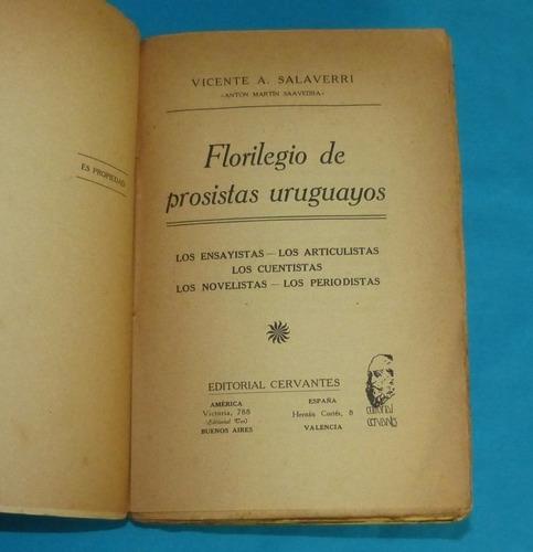 florilegio de prosistas uruguayos vicente salaverri 1918