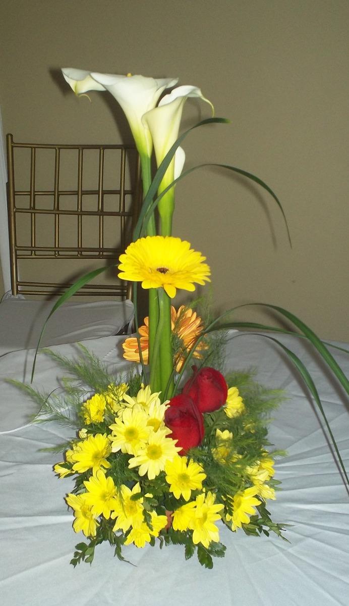 Floristeria centros de mesa bodas decoracion bouquets bs en mercado libre - Precios de centros de mesa para boda ...