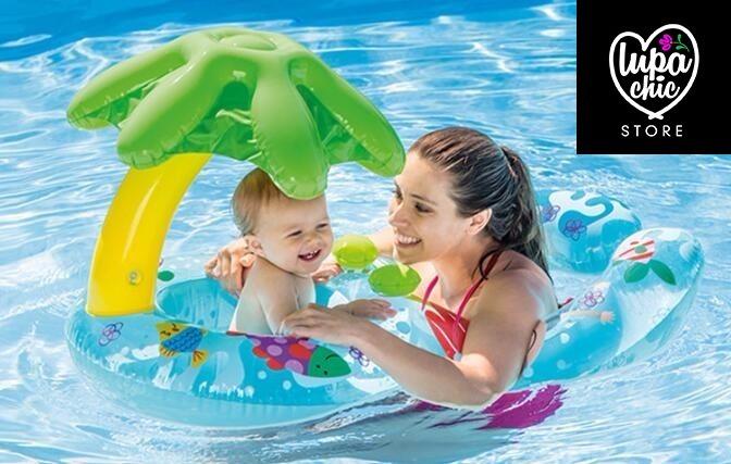 Flotador bebe mam piscina s 55 00 en mercado libre for Piscina inflable bebe