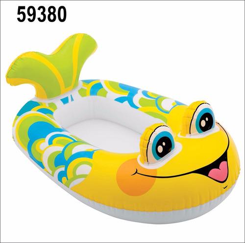 flotador bote infantil 59380 intex carga 27kg