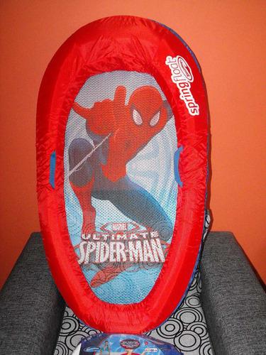 flotador, bote, para niño, spider man