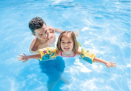 flotador brazos inflable niño salvavida intex piscina