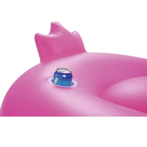 flotador colchoneta gigante pileta inflable bestway flamenco