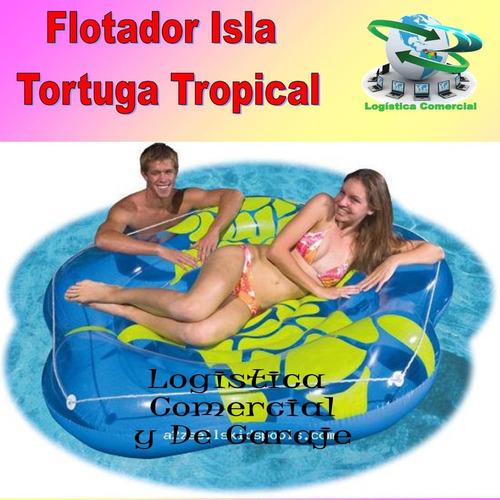 flotador colchoneta inflable bestway tortuga 58279 playa