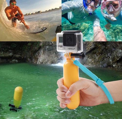 flotador compatible go pro sport cam sj4000