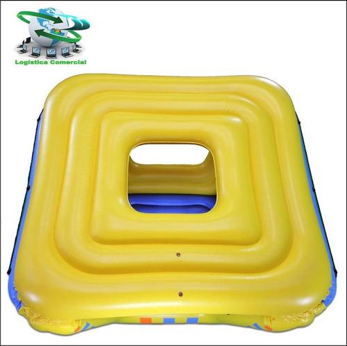 flotador fortaleza inflable gigant niños adultos intex 58829