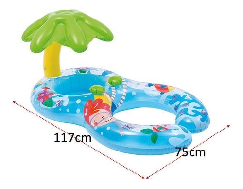 flotador infantil bebé + mamá intex #56590