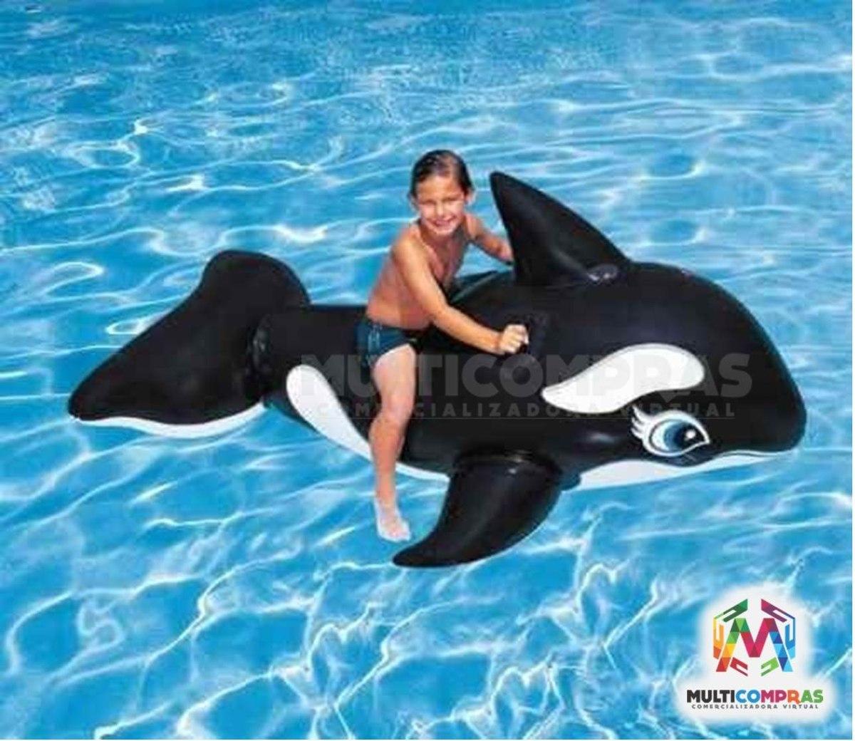 Juegos orcas beautiful ballena delfin orca inflable bestway x cm stunning colectivo loco - Playmobil piscina ballena ...