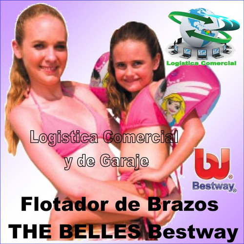 flotador inflable brazo niñas bestway the belles piscina pla