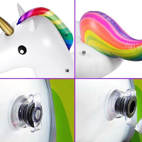 flotador inflable en forma de unicornio para piscina o playa