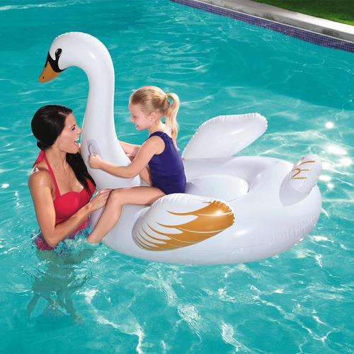 flotador inflable infantil pileta bestway cisne 41123 niños