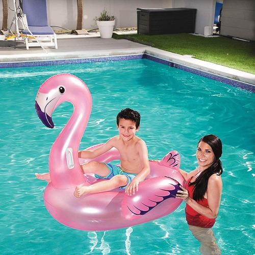 flotador inflable niños pileta bestway flamenco 41122 cuotas