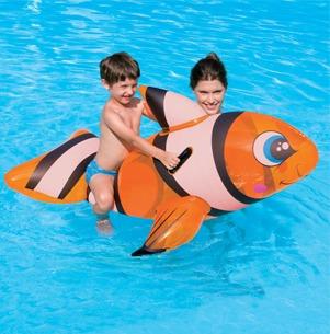 flotador inflable pez payaso tipo nemo bestway | toysdepot