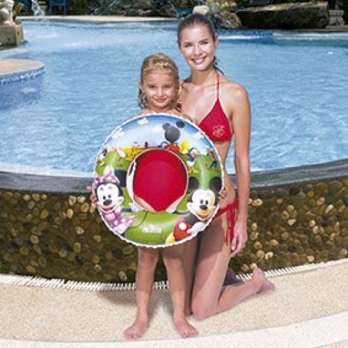flotador inflable princesas/mickey