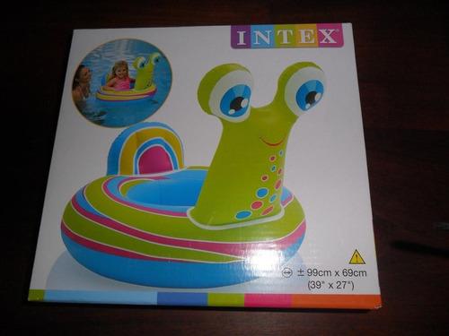 flotador intex caracol salvavida baby bote pileta oferta !!!