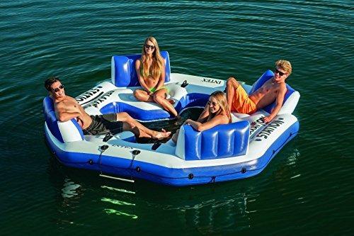 flotador intex pacific paradise para 4 personas