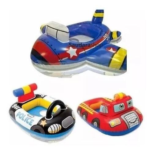 flotador intex para niños policía bombero avión