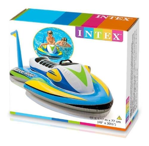 flotador moto divertido niño piscina