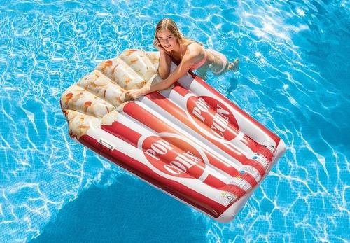 flotador palomitas de maiz gigante para piscina increible