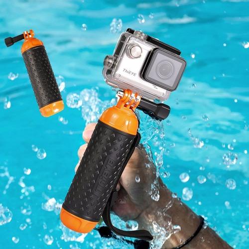 flotador  para cámara deportiva sumergible sjcam gopro todas