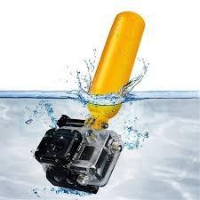 flotador para gopro. floating bobber grip buceo wakeboard