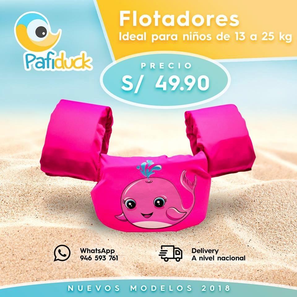 Flotador Para Niño Pafiduck Puddle Jumper - S/ 50,00 en Mercado Libre