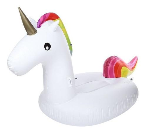 flotador para pileta unicornio / flamenco, pavo, verano 2020