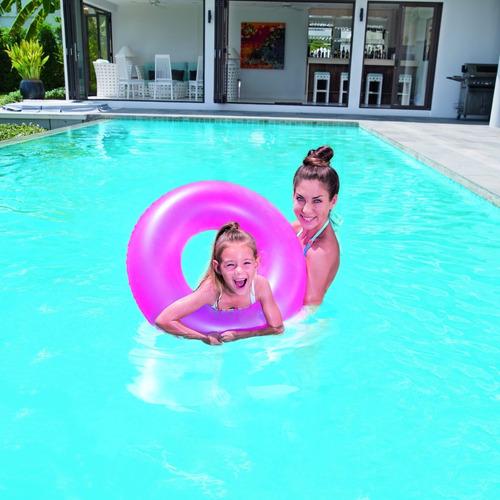 flotador salvavidas aro inflable pileta playa bestway 76 cm