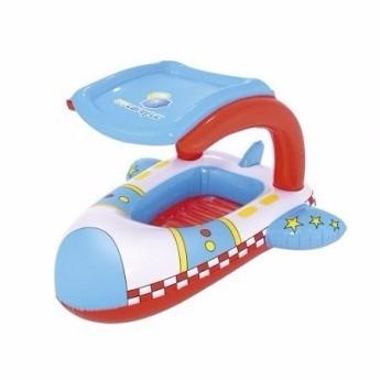 flotador salvavidas para bebe con techo desmontable