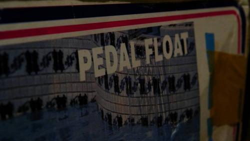 flotador salvavidas tipo silla de playa, usado.