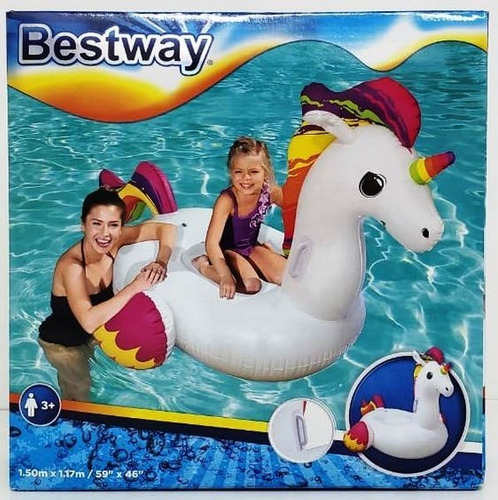 flotador unicornio alas 150cm bestway new pce 41114 bigshop