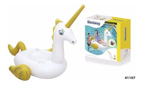 flotador unicornio inflable bestway 41107 gigante