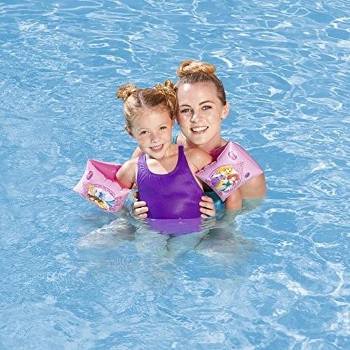Flotadores de brazo princesas disney importados para for Flotadores para piscinas
