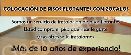 flotante con pisos