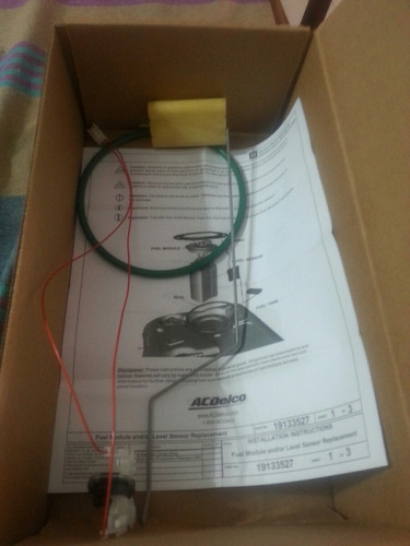 flotante gasolina auxiliar c3500 hd 09-10 original 19209603