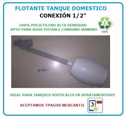 flotante tanque agua economico 100% polietileno alta densida