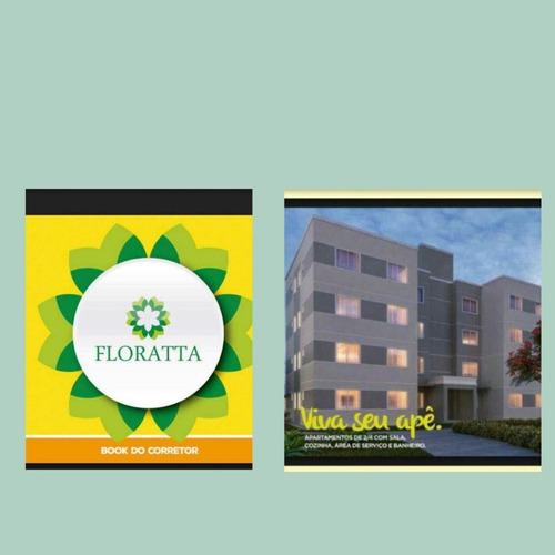 flotara apartamento 2/4,escritura grátis,avenida iguatemi